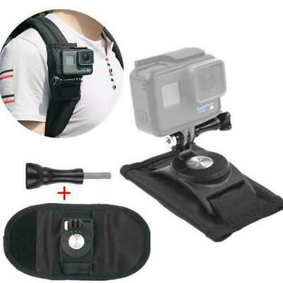 $ CDN7.56 • Buy Sport Camera Backpack Clip For Gopro Hero 7/6/5 Black Action Camera Accessories
