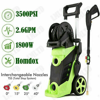 $143.99 • Buy Electric Pressure Washer 3500 PSI 2.6 GPM Powerful Water Cleaner Machine Porable
