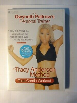 The Tracy Anderson Method - Total Cardio Workout (DVD, 2010) Sealed]✉️FREE POST • 2.49£