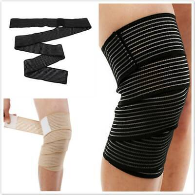 Elastic Bandage Tape Sport Knee Support Strap Protector For Leg Wrist SI • 2.97£