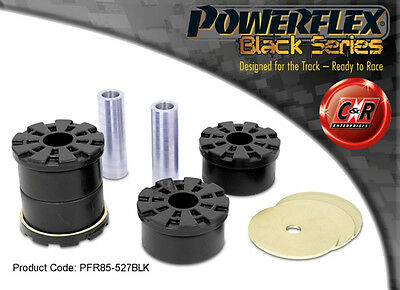 AU178.16 • Buy VW Passat B6 & B7 06-13 Powerflex Black Rr Subframe Fr Mount Bushes PFR85-527BLK