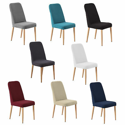 AU18.99 • Buy Dining Chair Covers Stretch Banquet Seat Cover Washable Slipcover Protector X2