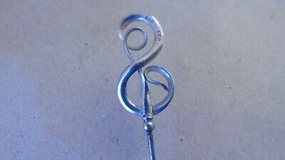 Charles Horner Art Nouveau Sterling Silver Hat Pin Chester 1910 • 0.99£