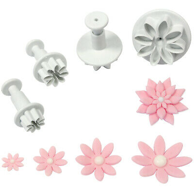 PME DAISY MARGUERITE Flower Plastic Plunger Cutter For Sugarcraft Icing Gumpaste • 10.99£