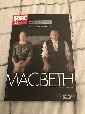 Niamh Cusack (macbeth/ Heartbeat) Signed Theatre  Flyer • 8£