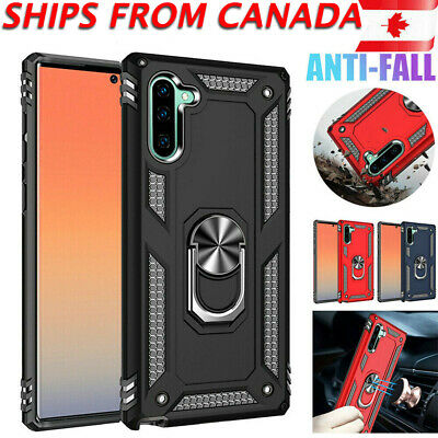 $ CDN9.99 • Buy For Samsung Galaxy Note 9 10 Plus Note 10+ Case Heavy Duty Magnetic Ring Cover