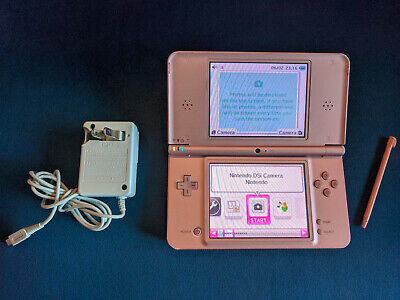 $30 • Buy Nintendo DSi XL Metallic Rose Handheld System B2