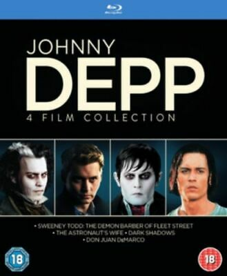AU46.99 • Buy Johnny Depp Collection (4 Films) Blu-ray [uk] New Bluray