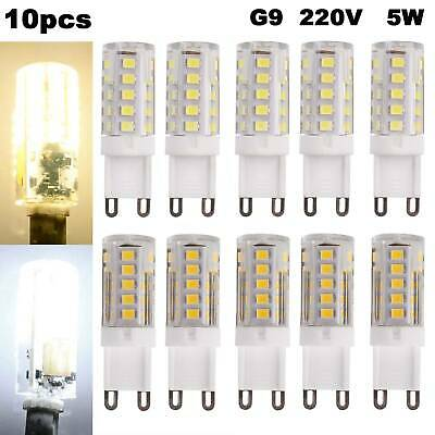 AU12.79 • Buy 10x G9 LED Bulb 5W Capsule Light 220V SMD2835 Replace Halogen Bulb Energy Saving