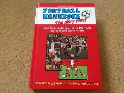 1978 & 2006 Marshall Cavendish Football Handbook The Glory Years Great & Vintage • 5.99£