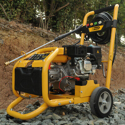 Rocwood Petrol Pressure Power Washer ELECTRIC START 3000 PSI 8HP Jet Washer • 289.99£