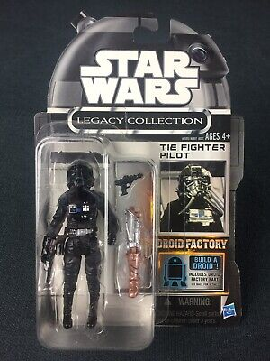 AU45 • Buy Star Wars The Legacy Collection TIE Fighter Pilot Figure TC-70 Droid Factory MOC