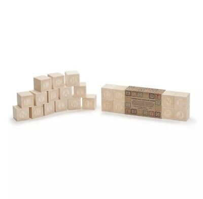 $14.99 • Buy Uncle Goose Uppercase Alphablank Blocks - Made In USA