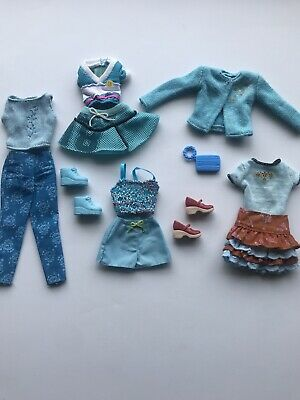 $19.99 • Buy Barbie Fashion Fever Avenue My Scene Blue Turquoise Brown Clothes HTF