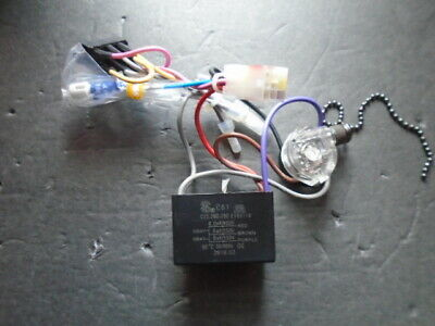 $37 • Buy  Hampton Bay Ceiling Fan Wiring Harness Switches/parts/cap C61