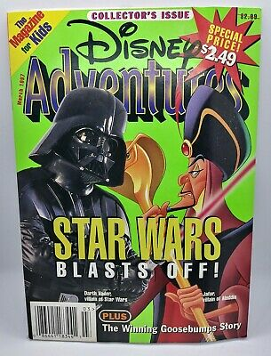 $1.99 • Buy Disney Adventures Magazine March 1997 Collector's Issue Star Wars Blasts Off