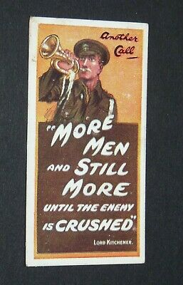 £9.88 • Buy WILLS's CIGARETTES CARD RECRUITING POSTERS WW1 1915 GUERRE 14-18 ANOTHER CALL