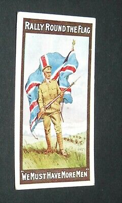 £9.88 • Buy WILLS's CIGARETTES CARD RECRUITING POSTERS WW1 1915 GUERRE 14-18 RALLY FLAG