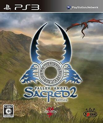 AU18.95 • Buy Used PS3 Sacred 2 Fallen Angel SONY PlayStation3 JAPAN OFFICIAL IMPORT