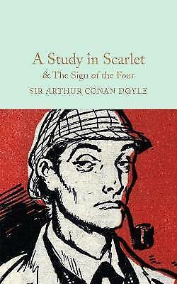 Macmillan Collectors Library Study In Scarlet/Sign Of Four Sherlock Holmes • 4.25£