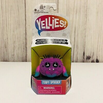 $10.95 • Buy Yellies Toofy Spooder Voice Activated Toy Spider Pet Hasbro
