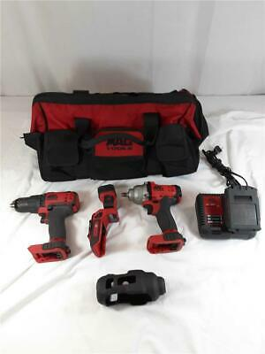 $449.99 • Buy Mac Tools BWP183 3/8  Impact Wrench With BDP050 1/2  Drill Driver  + More