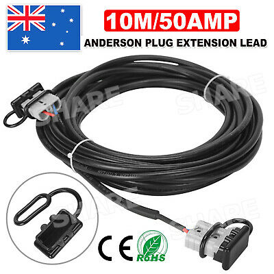 AU29.85 • Buy Ready To Use10m 50Amp Anderson Plug Extension Lead 6mm TwinCore Automotive Cable