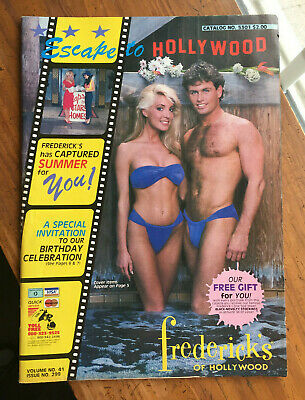 $28.75 • Buy Vintage FREDERICK'S OF HOLLYWOOD Catalog - Lingerie - Issue #299 - 1986