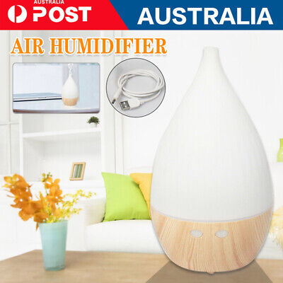 AU16.39 • Buy Aroma Aromatherapy Diffuser LED Essential Oil Ultrasonic Air Purifier Humidifier
