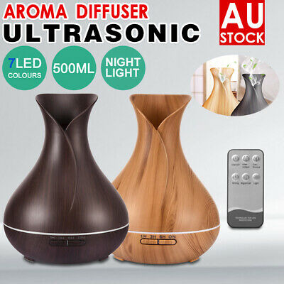AU26.88 • Buy Aroma Aromatherapy Diffuser LED Oil Essential Ultrasonic Air Humidifier Purifier