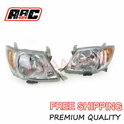 AU619.90 • Buy Headlights Pair For Toyota Hilux Tgn/Kun/Ggn 2005-2008