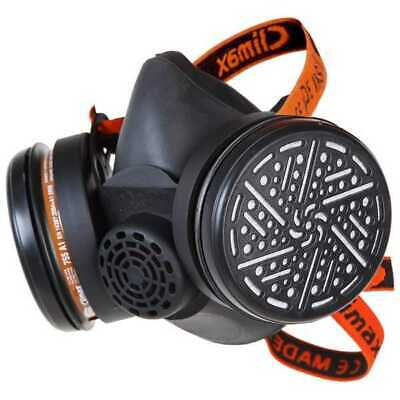 £32 • Buy A2 P3 Twin Filter Re-Usable Half Mask Complete With Filters