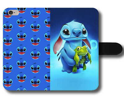£10.49 • Buy Lilo And Stitch Walt Disney Extraterrestrial Magnetic Leather Phone Case Cover