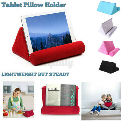 AU14.49 • Buy Tablet Pillow Stands For IPad Book Reader Holder Rest Laps Reading Cushion AU.