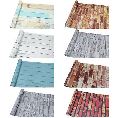 $13.85 • Buy 10M 3D Wallpaper Brick Pattern Self-adhesive Roll Stone Stickers Paper Décor