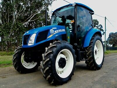 AU37950 • Buy Late Model 2014 New Holland T4 Powerstar T4.75 4x4 Agricultural Farm Tractor