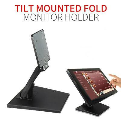 10-27  VESA LCD Monitor Holder Tilt Mounted Fold Screen Display Stand UK • 14.89£