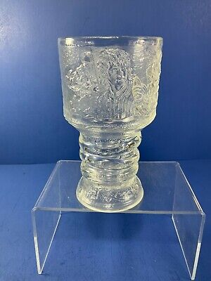 £6.21 • Buy 2001, 6  LOTR Goblet, 'FRODO', Burger King Collectible Glass W/ Light Up Base