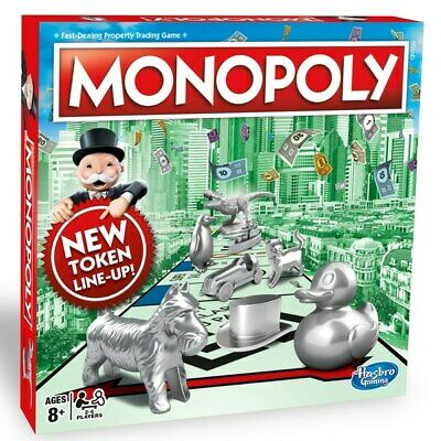 Monopoly CLASSIC Board Game From Hasbro Gaming | Original UK Edition NEW • 29.99£