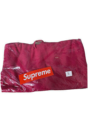 $ CDN199.01 • Buy NWT Supreme Small Box Hooded Fuchsia Pink Mens Large In Hand W Sticker NEW