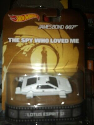 $ CDN28 • Buy Hot Wheels Retro Entertainment James Bond 007 Lotus Esprit S1