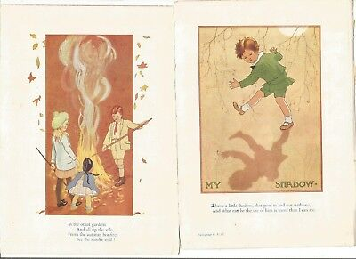 Collection Of 18 Margaret W Tarrant Prints Removed From A Distressed Book • 15£
