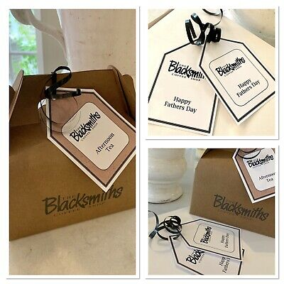 Custom Made Gift Tags Labels Business Tags Labels Logo Swing Tags Kraft Tags • 8.75£