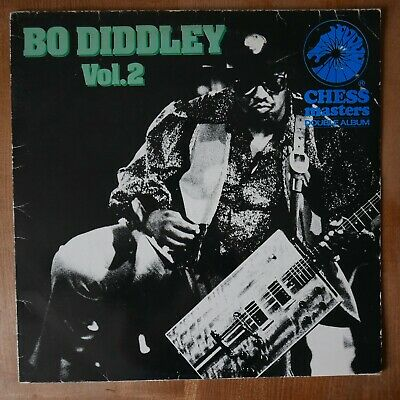 BO DIDDLEY Chess Masters Vol.2 Vinyl CXMD 4009 Double LP • 13£