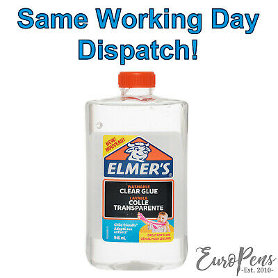AU33.65 • Buy Elmers Clear Glue 946ML LARGE, Washable - Great For Slime Making! -