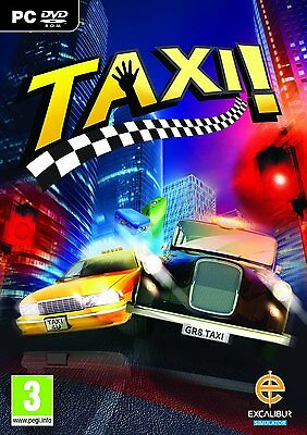 NEW SEALED Taxi! (3D Taxi Business Simulation) PC Windows Game New Sealed • 4.95£