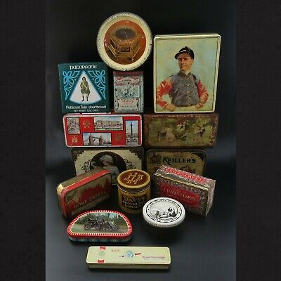 Collection Of Decorative Vintage Tins – Sold Individually • 8£