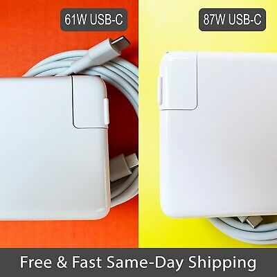 AU34.77 • Buy New 61W / 87W Charger For MacBook Air Pro 13  15  USB-C Type C Power Adapter