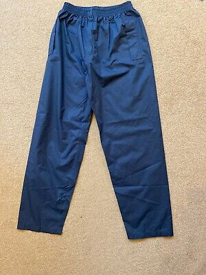 Children's Peter Storm Stormtech Blue Waterproof Trousers Age 11-12 Elasticated • 10£