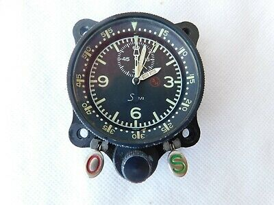 Tornado GR4A Aircraft Airborne Navigation Clock From ZG726 With Paperwork [1R8C] • 1,000£